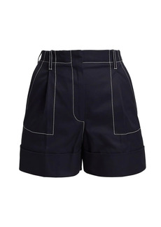 Alexander McQueen Stitch Detail Shorts