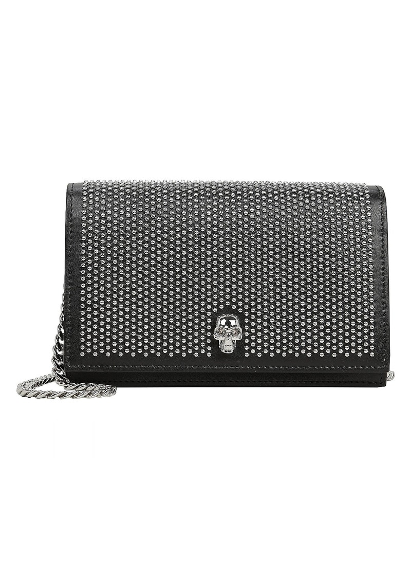Alexander McQueen Studded Crossbody Jewel Satchel
