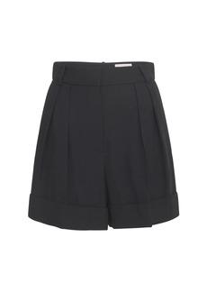 Alexander McQueen Tailored Crepe Bermuda Shorts