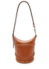 Alexander McQueen The Curve Small Leather Shoulder Bag