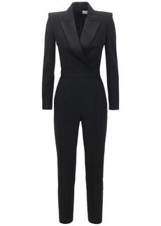 Alexander McQueen Tuxedo Tailored Jumpsuit