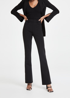 Alexander Wang Mid Rise Flared Leg Trousers