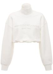 Alexander Wang Embroidered Cotton Sweatshirt