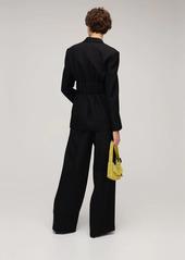 Alexander Wang Fitted Wool Blend Blazer