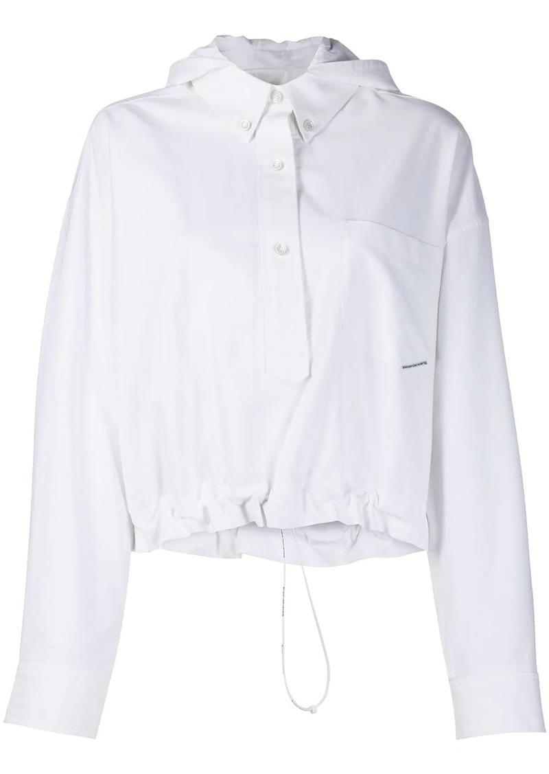 Alexander Wang Henley shirt jacket