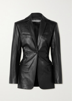 Alexander Wang Leather Blazer