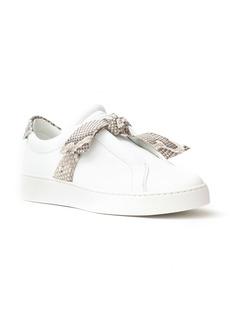 Alexandre Birman Clarita Jungle Genuine Python Bow Sneaker (Women)