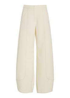 Alexis - Women's Colman Crepe Wide-Leg Pants - Neutral - Moda Operandi