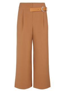 Alice + Olivia Adelina Belt Tab Crop Wide Leg Pants