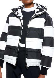 Alice + Olivia Durham Reversible Hooded Down Jacket