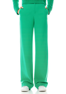 Alice + Olivia Dylan Cuff Wide Leg Trousers