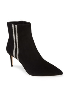 Alice + Olivia Flossly Crystal Embellished Bootie (Women)