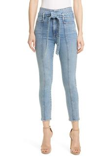 Alice + Olivia Good Tie High Waist Skinny Jeans (Golden Child)