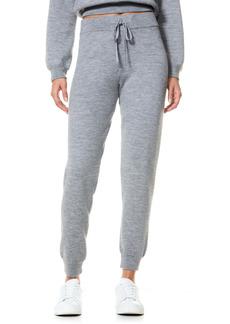 Alice + Olivia Harry Slim Wool Blend Sweatpants
