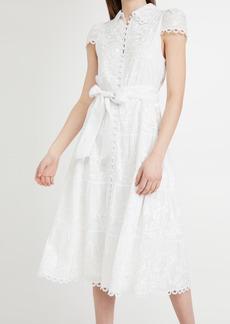 alice + olivia Vannessa Midi Dress