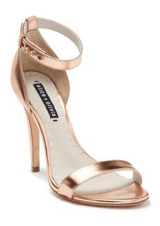 Alice + Olivia Nina Specchio Leather Sandal