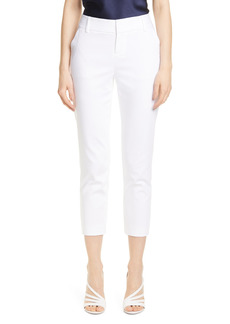 Women's Alice + Olivia Stacey Slim Stretch Cotton Blend Trousers