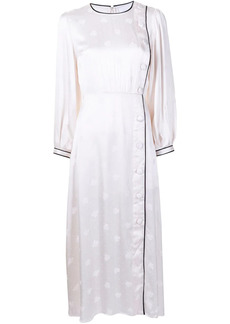 Alice McCall Hotel Loby button-detail midi dress