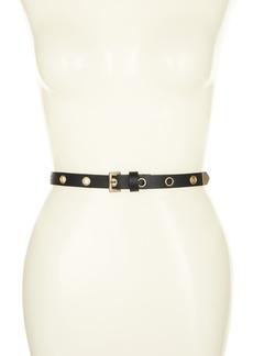 AllSaints 18mm Eyelet Belt