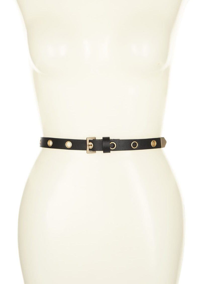 AllSaints 18mm Eyelet Belt