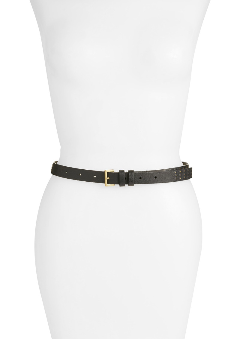 AllSaints 18mm Mini Sanded Stud Belt