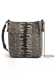 ALLSAINTS Adelina Small Embossed Leather Tote