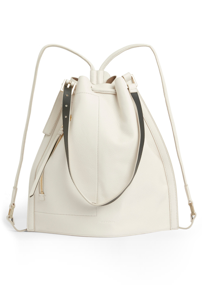 AllSaints Alpha Leather Backpack
