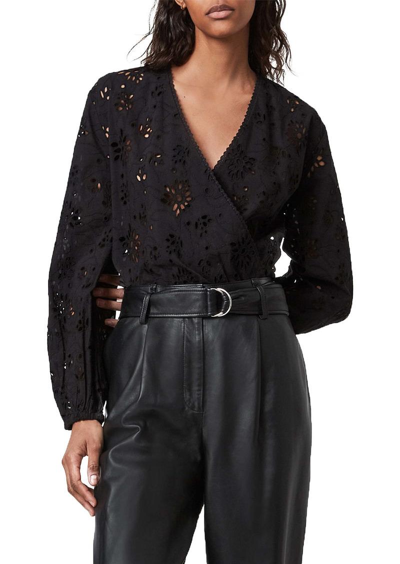 AllSaints Amara Broderie Bodysuit