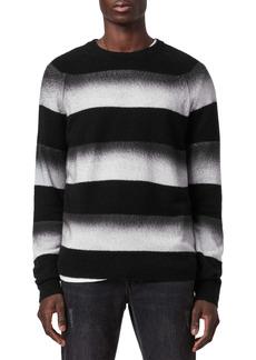 AllSaints Arbour Ombré Stripe Sweater