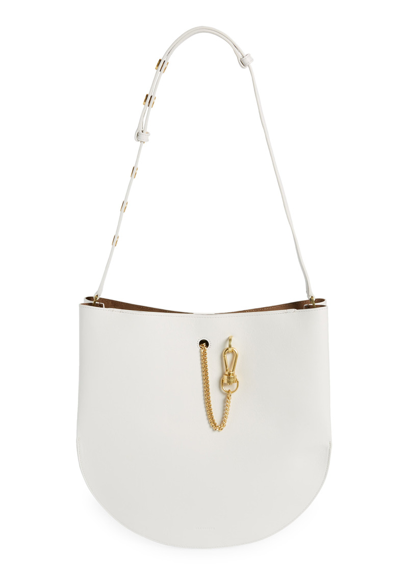 AllSaints Beaumont Leather Hobo Bag