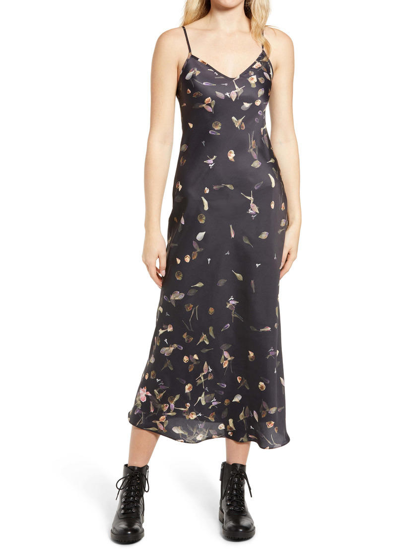 AllSaints Bryony Mutare Floral Print Slipdress