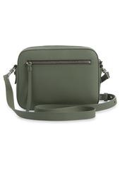 AllSaints Captain Lea Leather Crossbody Bag