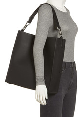AllSaints Captain Leather North/South Tote