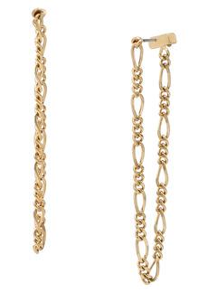 AllSaints Chain Drop Stud Earrings