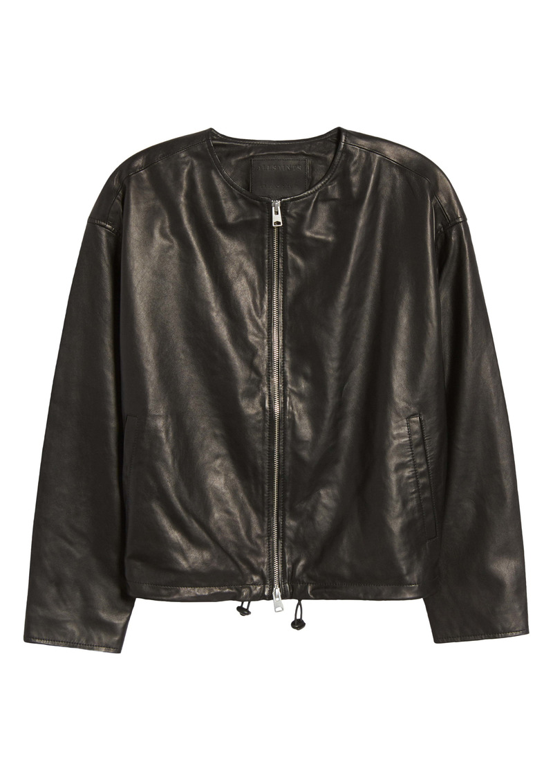 ALLSAINTS Della Leather Bomber Jacket