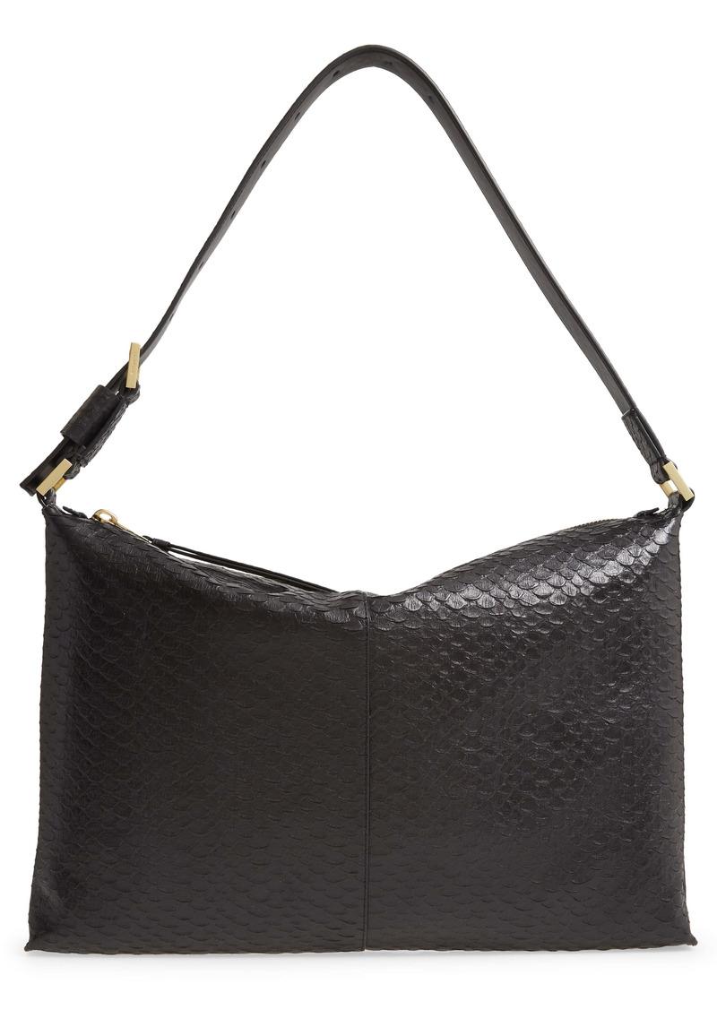 AllSaints Edbury Leather Shoulder Bag