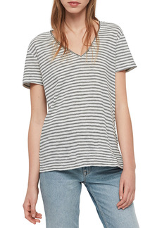 AllSaints Emelyn Stripe T-Shirt
