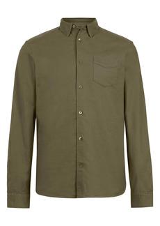 AllSaints Fairview Slim Fit Button-Up Shirt