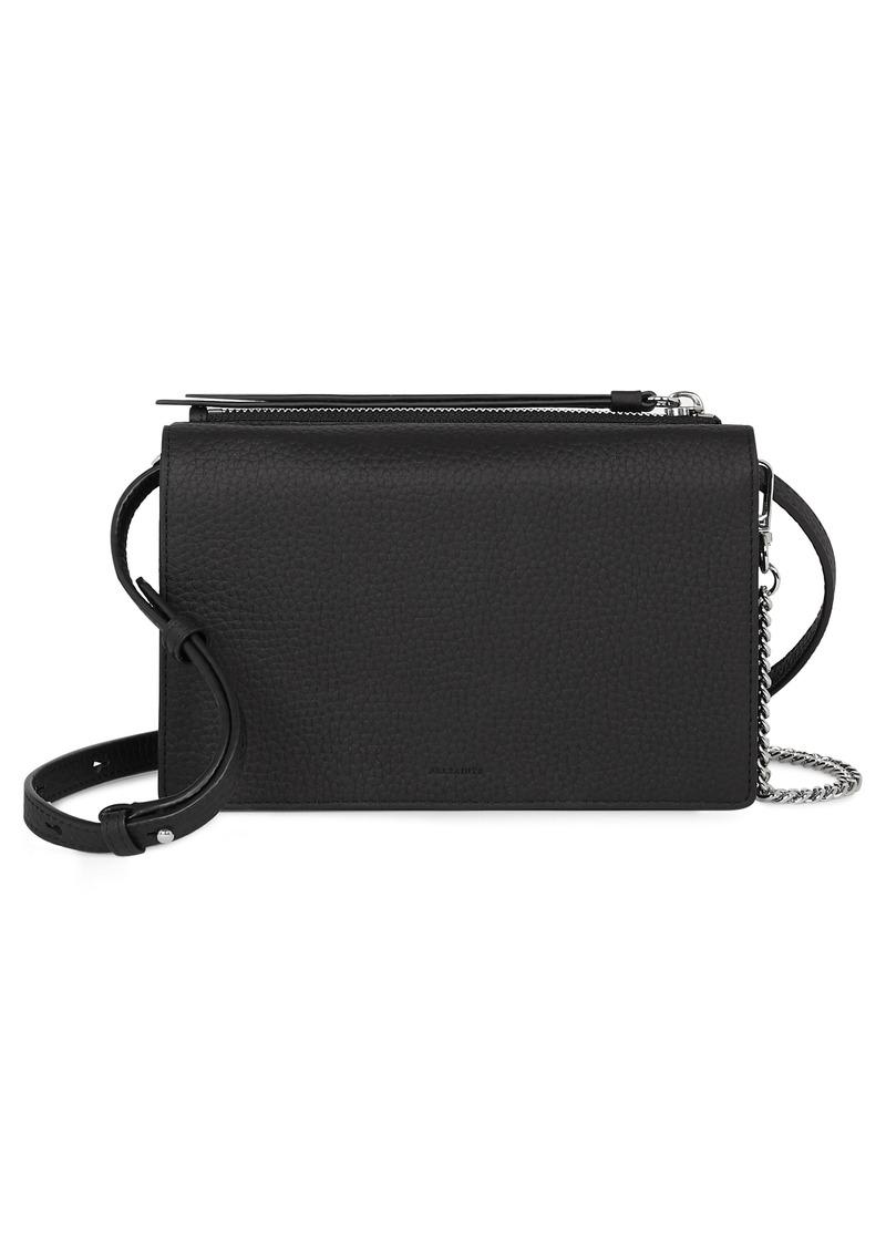 AllSaints Fetch Leather Bag
