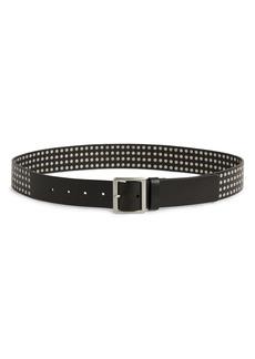 AllSaints Hammered Stud Leather Belt