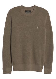 AllSaints Ivar Slim Fit Crewneck Wool Sweater