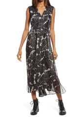 AllSaints Karian Hope High/Low Dress