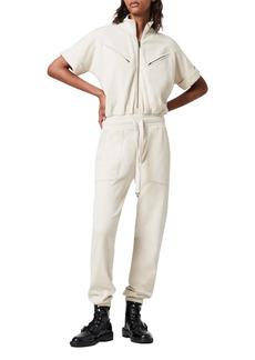 AllSaints Kayla Cotton Fleece Jumpsuit