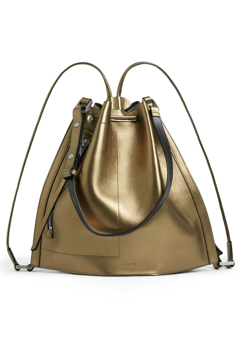 ALLSAINTS Lear Leather Backpack