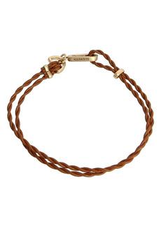 AllSaints Leather Cord Bracelet