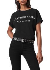 AllSaints Leather Skies Imogen Graphic Tee