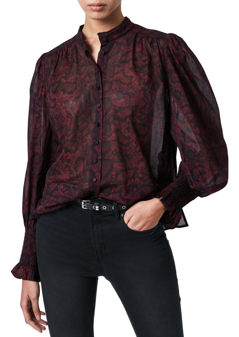 AllSaints Leonie Stanza Shirt