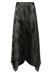 AllSaints Lerin Tranquil Pleated Skirt