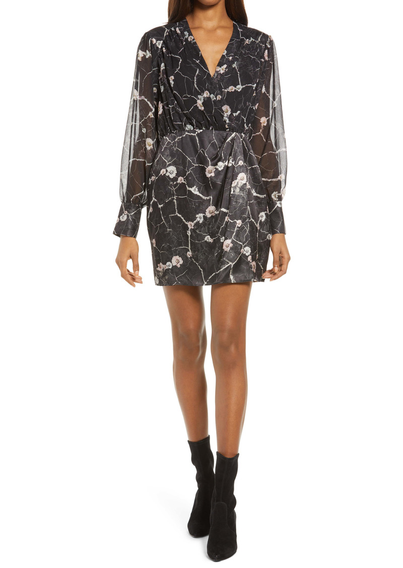 ALLSAINTS Limina Hope Floral Long Sleeve Dress