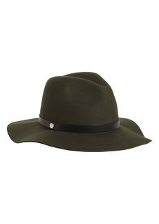 ALLSAINTS Long Brim Fedora Hat
